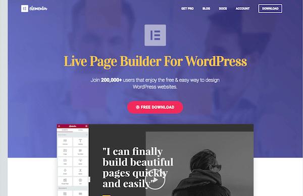 Elementor.com Page-Builder