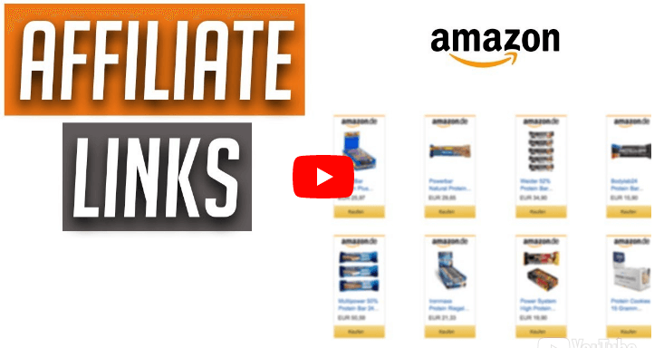 Amazon Affiliate Link erstellen