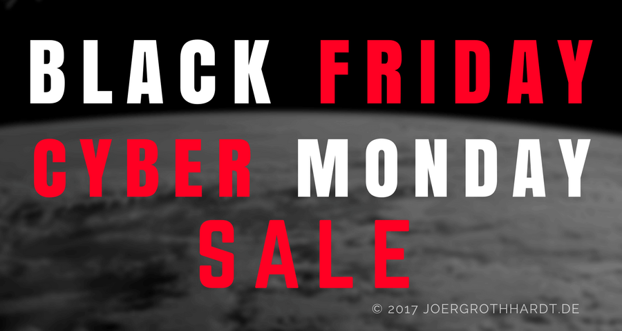 Black Friday Cyber Monday joergrothhardt.de