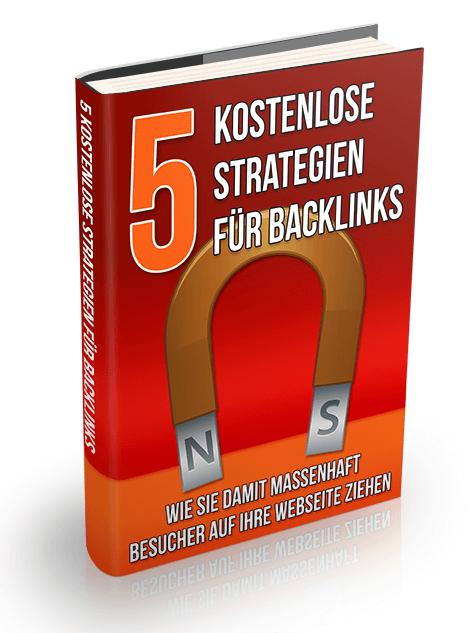 Cover 5 kostenlose Strategien für Backlinks
