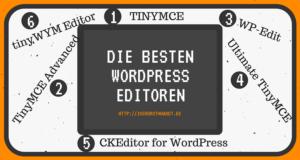 Die besten WordPress Editoren