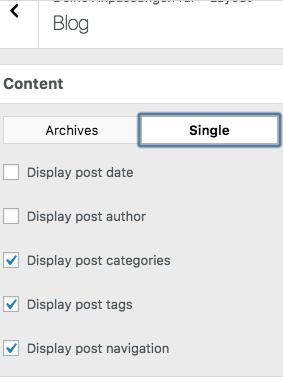 current Customizer-Screenshot