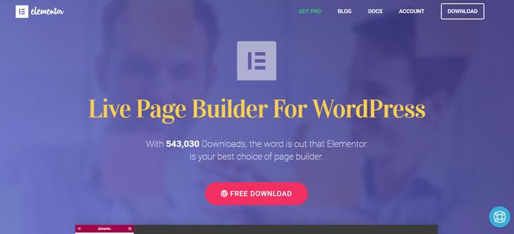 Elementor Startseite