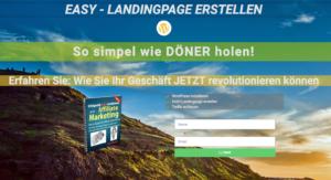 Landingpage mit dem Elementor Plugin