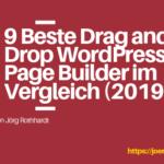 9 Beste Drag and Drop WordPress Page Builder im Vergleich (2019)