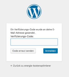 WordPress-Login zusätzlich mit 2-Faktor Autorisierung