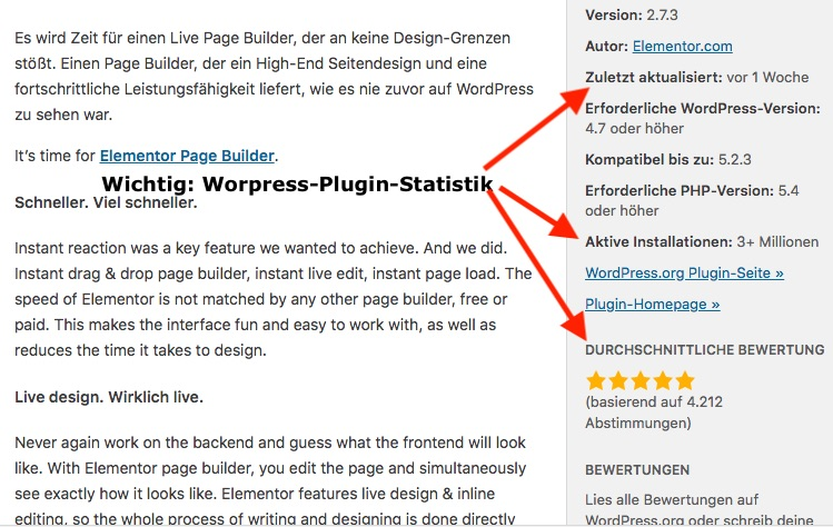WordPress-Plugins-Statistik